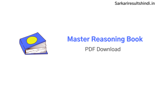 master reasoning book pdf